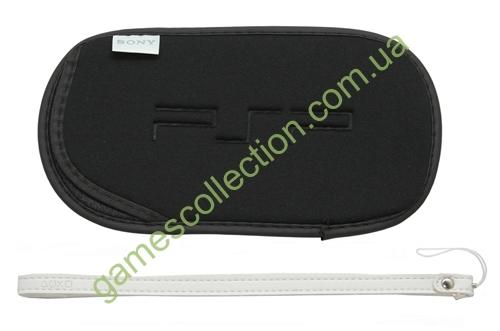 Мягкий чехол для PSP (черный)-thumb