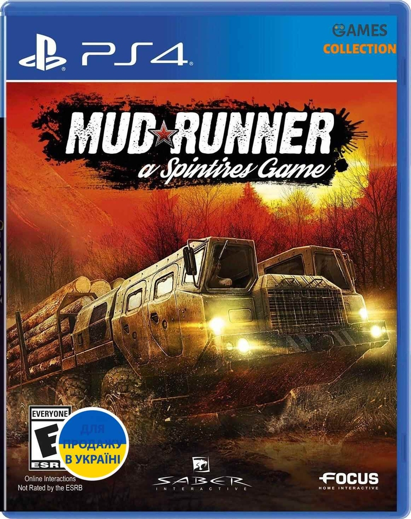 Mudrunner: Spintires Game (PS4)-thumb