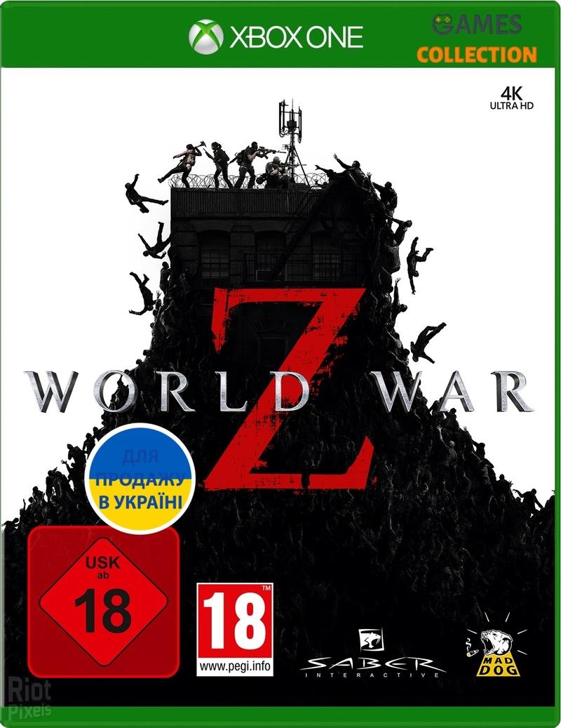 World War Z (XBox One)-thumb