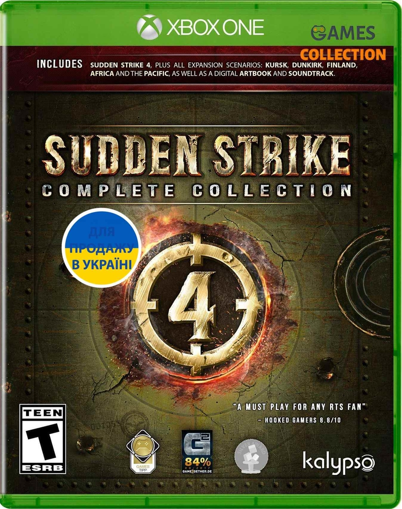 Sudden Strike 4 Complete Collection (XBox One)-thumb