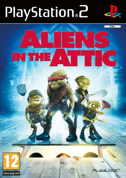 Aliens in the Attic (PS2)-thumb