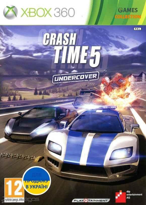 Crash Time 5: Undercover (XBOX360)-thumb
