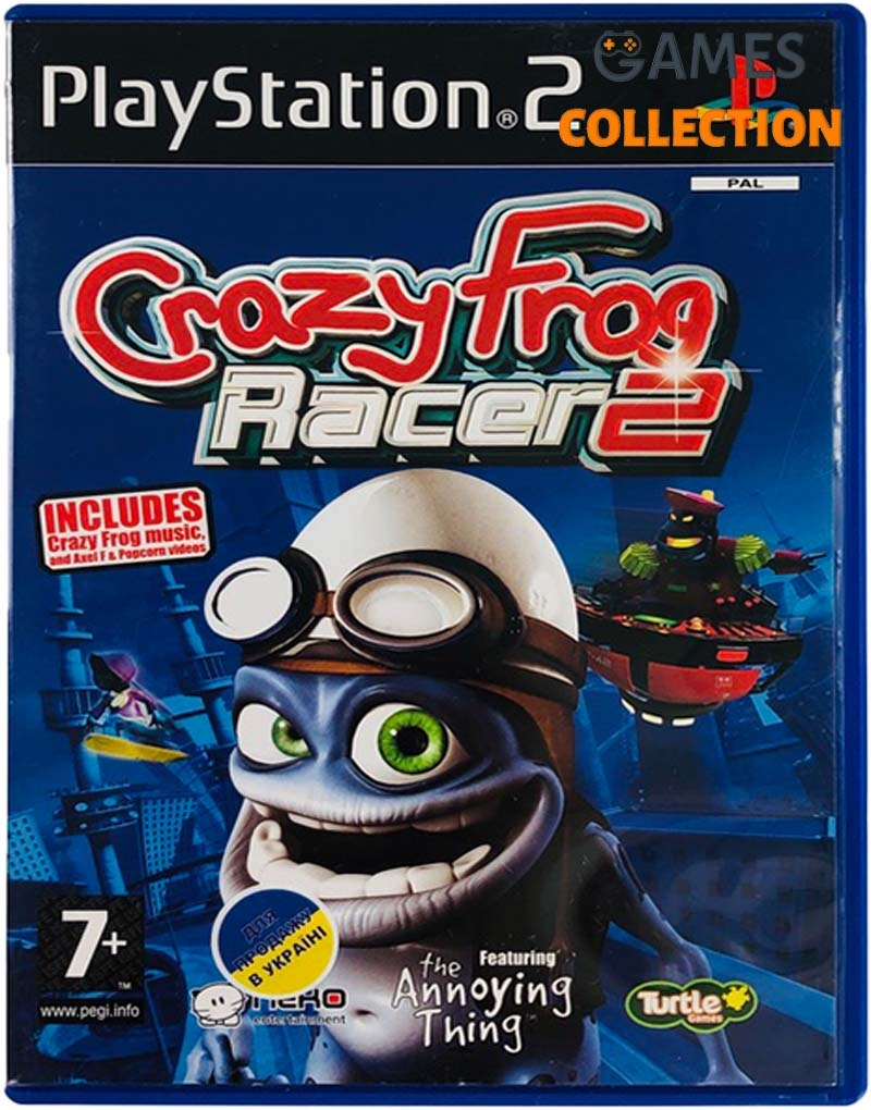 Crazy Frog Racer 2 (PS2) Б/У-thumb