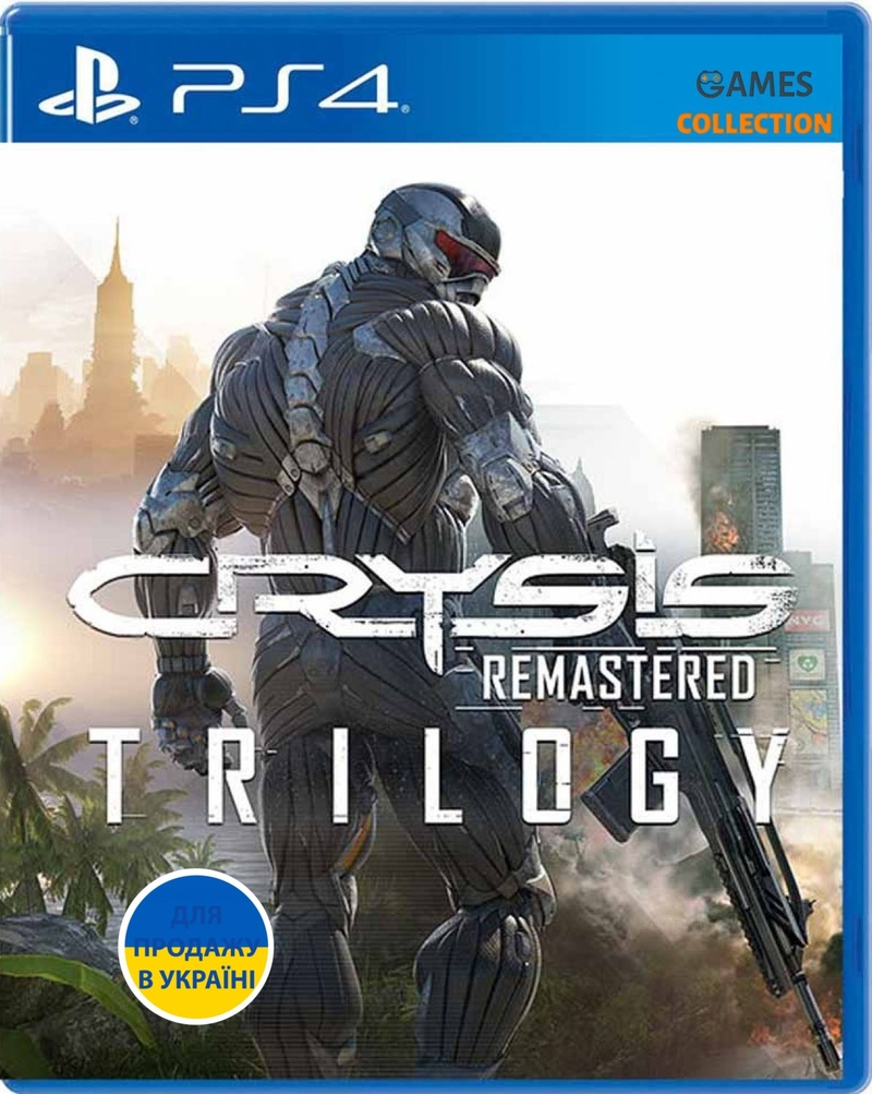 Crysis Remastered Trilogy (PS4)-thumb