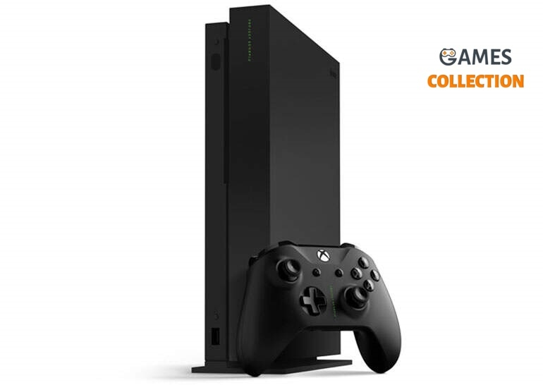 Microsoft Xbox One Х 1TB Black Б/У-thumb