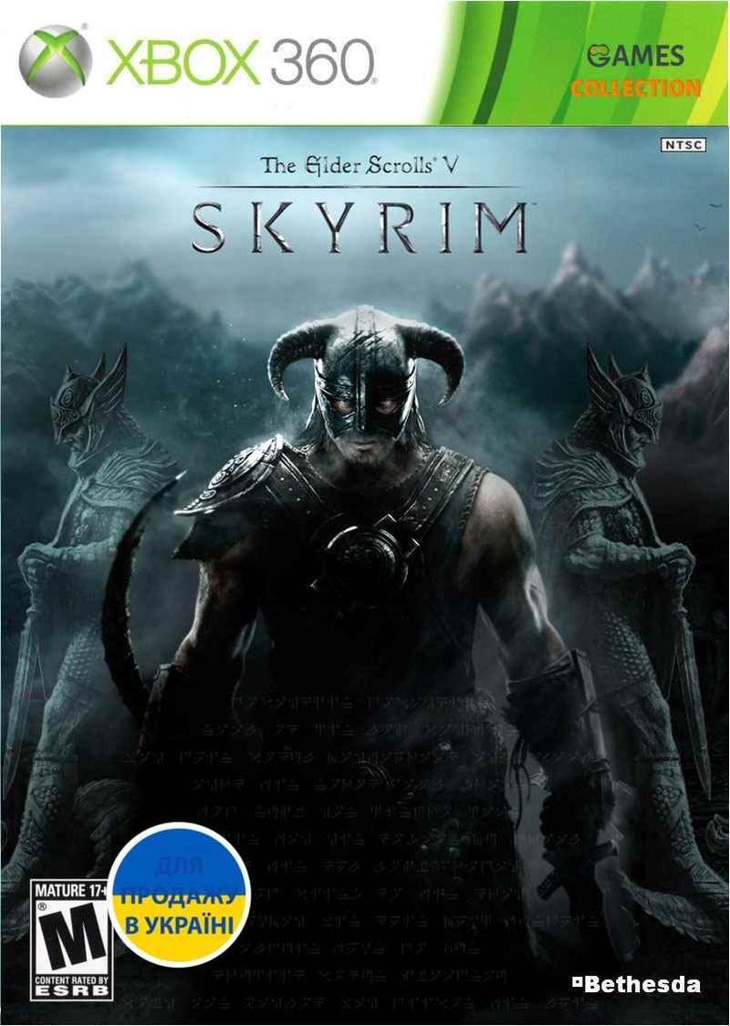 The Elder Scrolls V: Skyrim (XBOX360) Б/У-thumb