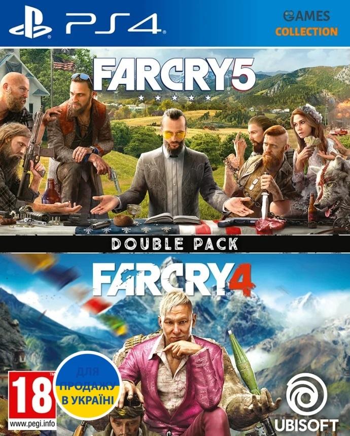 Комплект FAR CRY 4 + FAR CRY 5 (PS4)-thumb