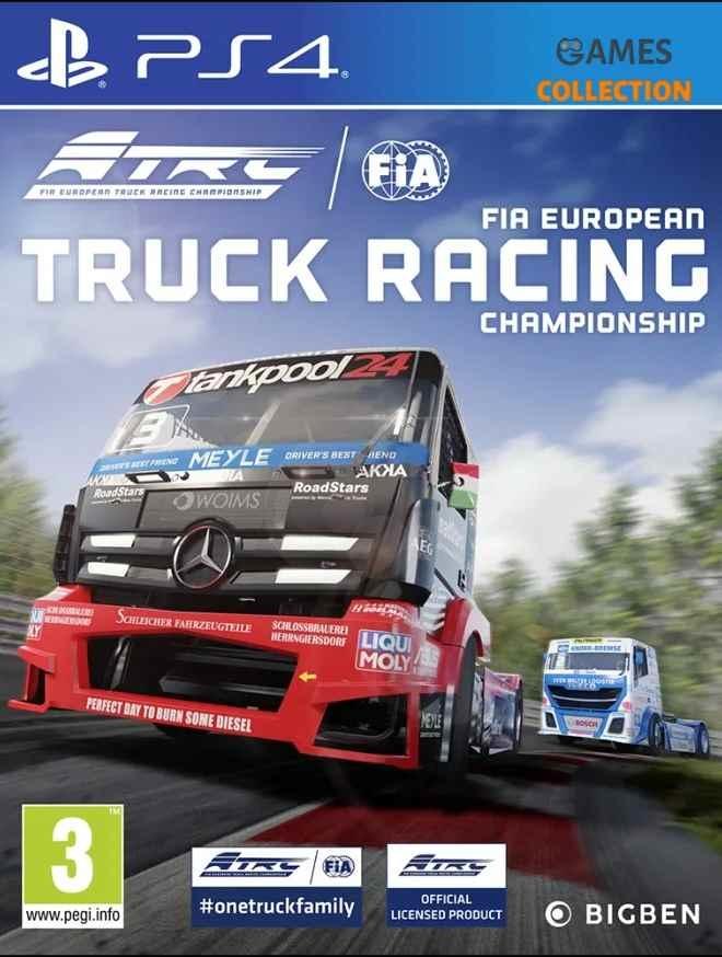 FIA: European Truck Racing Championship (PS4)-thumb
