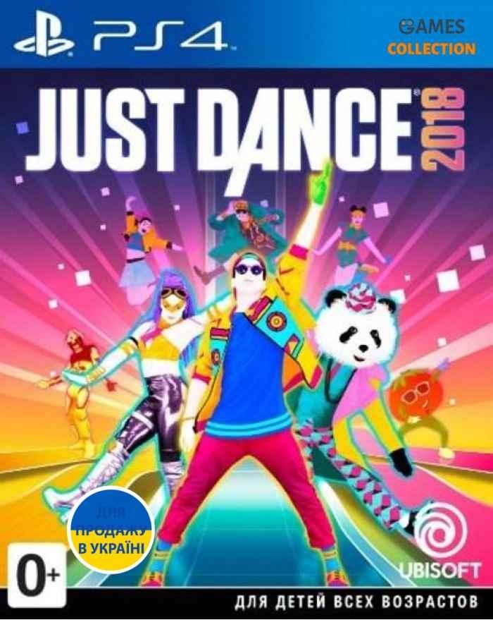 Just Dance 2018 (PS4)-thumb