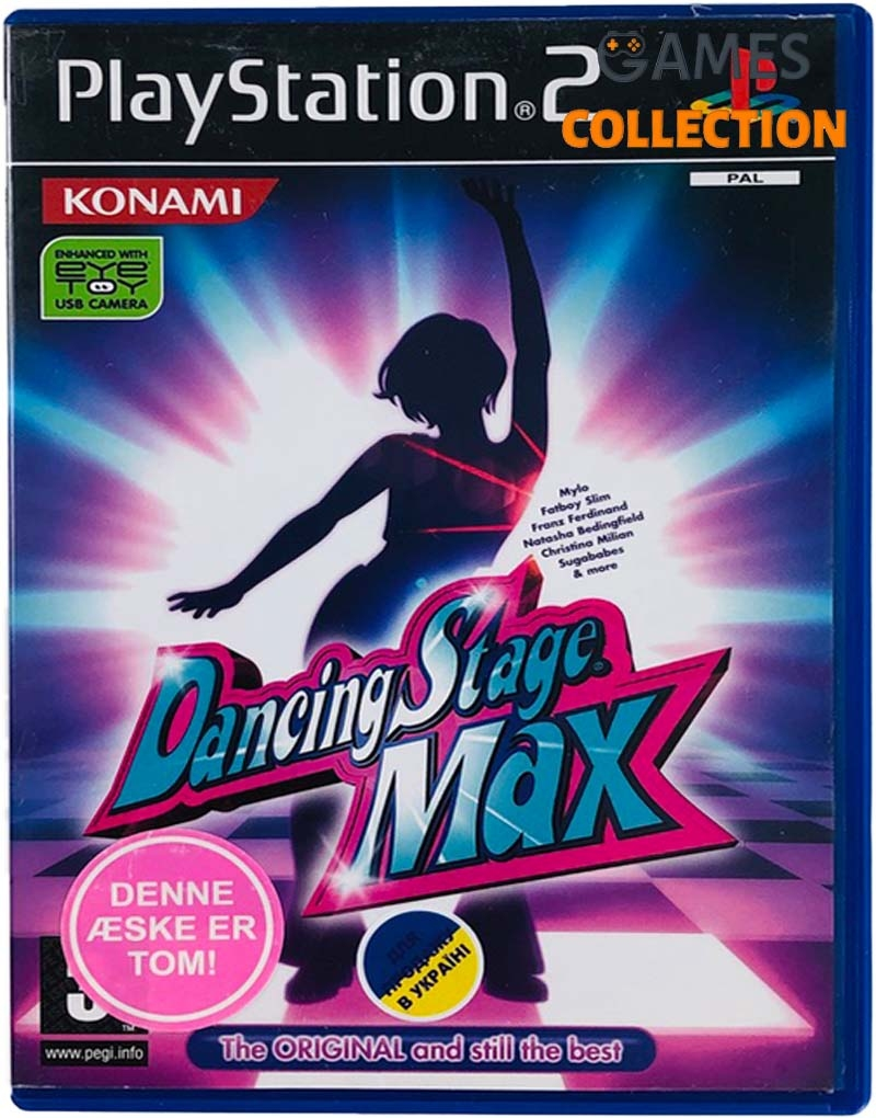 Dancing Stage Max (PS2) Б/У-thumb