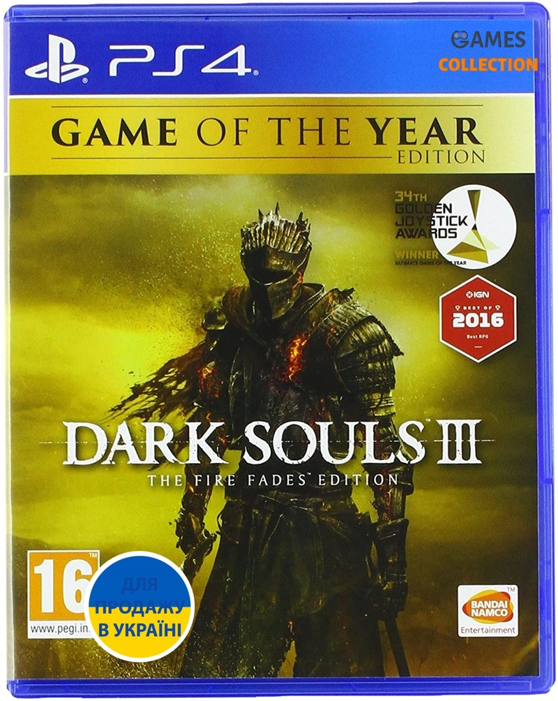 Dark Souls III: Game of the Year Edition (PS4)-thumb