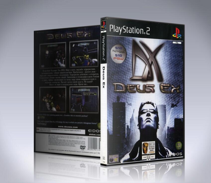 Deus Ex The Conspiracy (ps2)-thumb