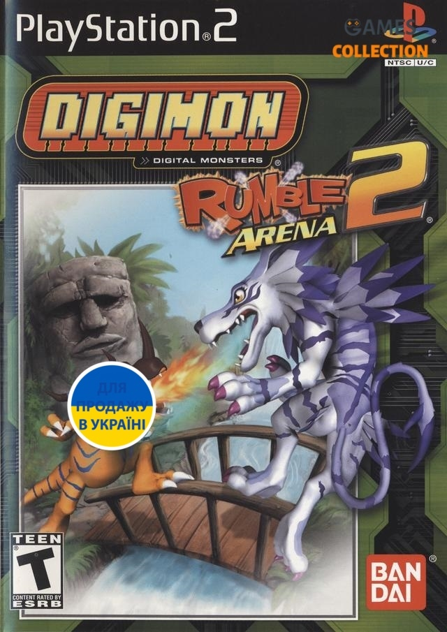 Digimon Rumble Arena 2 (PS2)-thumb