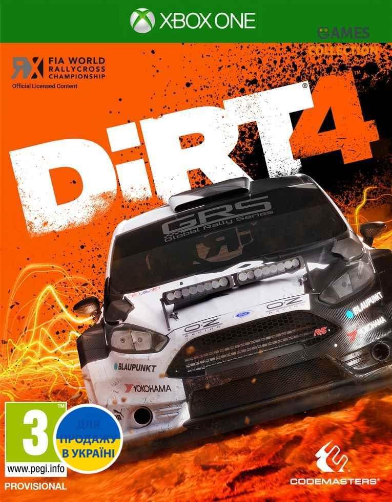 DiRT 4 (Xbox One) Б/У-thumb