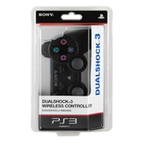 Беспроводной джойстик геймпад Dualshock 3 Sony Playstation PS3(BLACK)-thumb