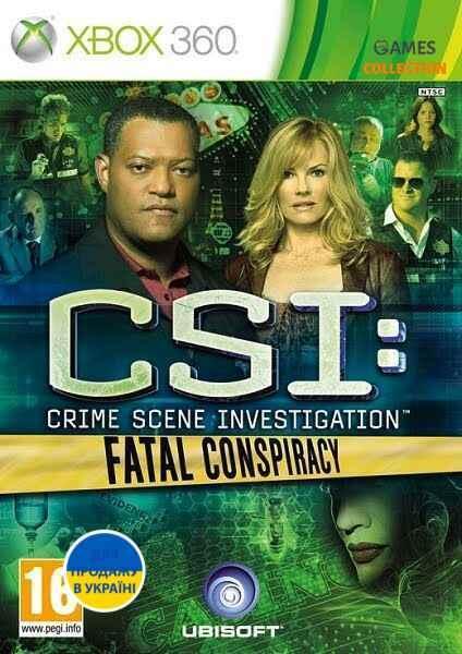 CSI: Fatal Conspiracy(XBOX360)-thumb
