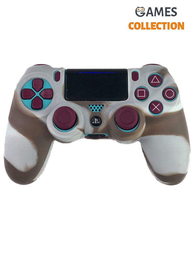 Коричневый чехол джойстик (PS4)-thumb