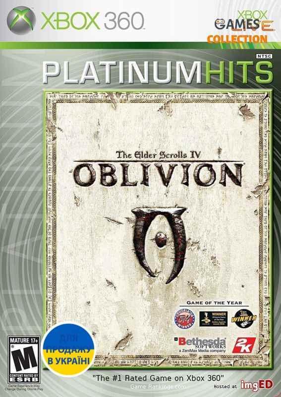 The Elder Scrolls IV: Oblivion (XBOX360) Б/У-thumb