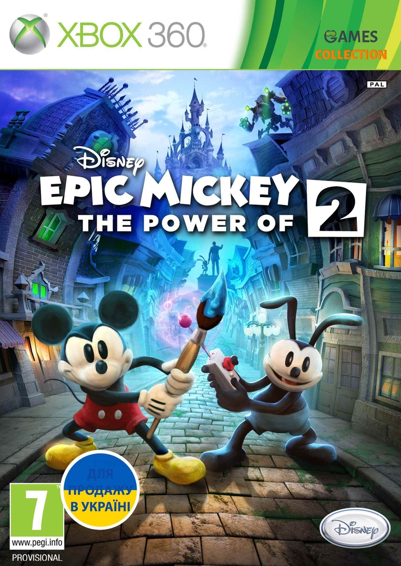 Epic Mickey 2: The Power Of Two (XBOX360)-thumb