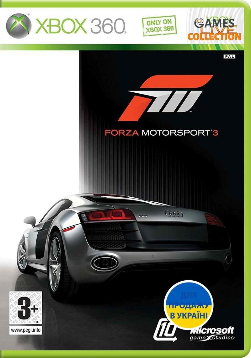 Forza Motorsport 3 (XBOX360) Б/У-thumb