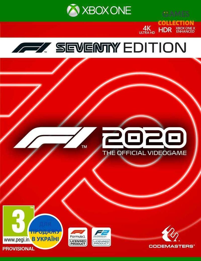 F1 2020 Seventy Edition (XBox One)-thumb