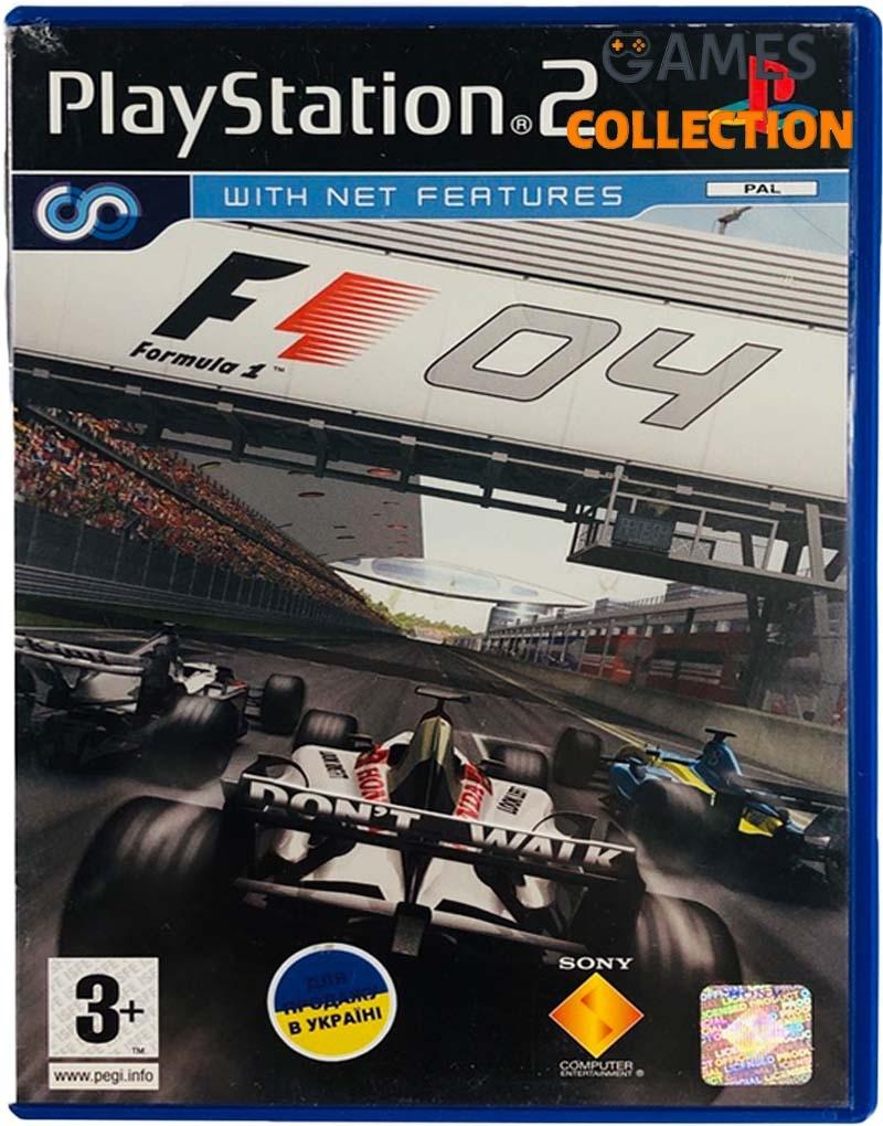 Formula One 04 (PS2) Б/У-thumb