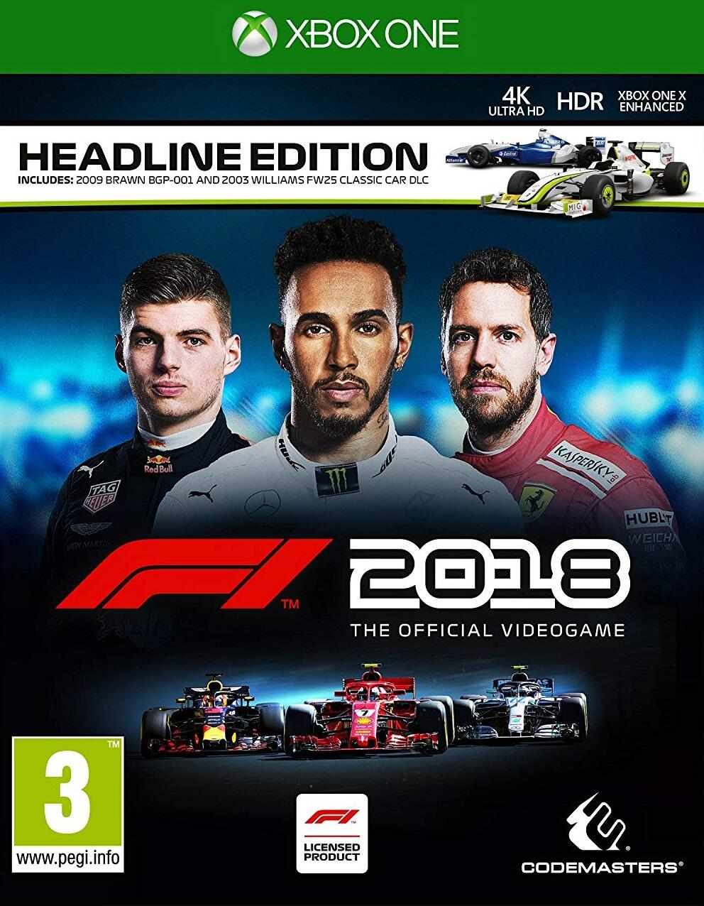 F1 2018 Headline Edition (Xbox One)-thumb