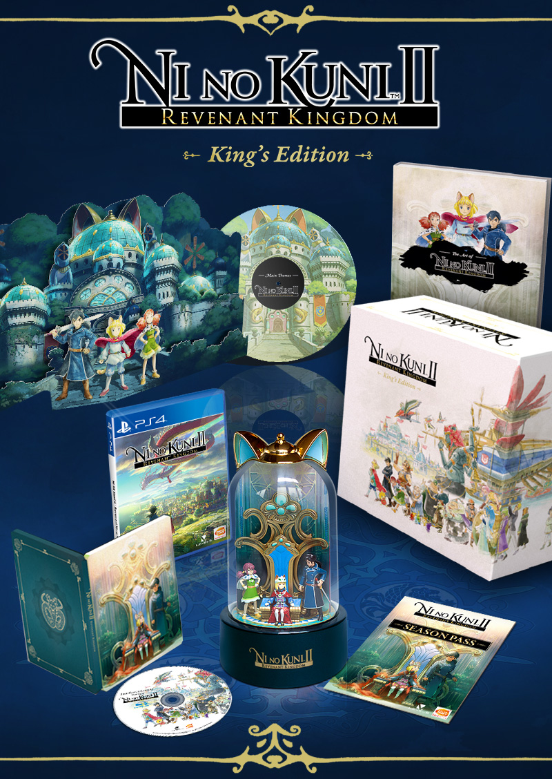 Ni No Kuni II: Revenant Kingdom Kings Edition (PS4)-thumb