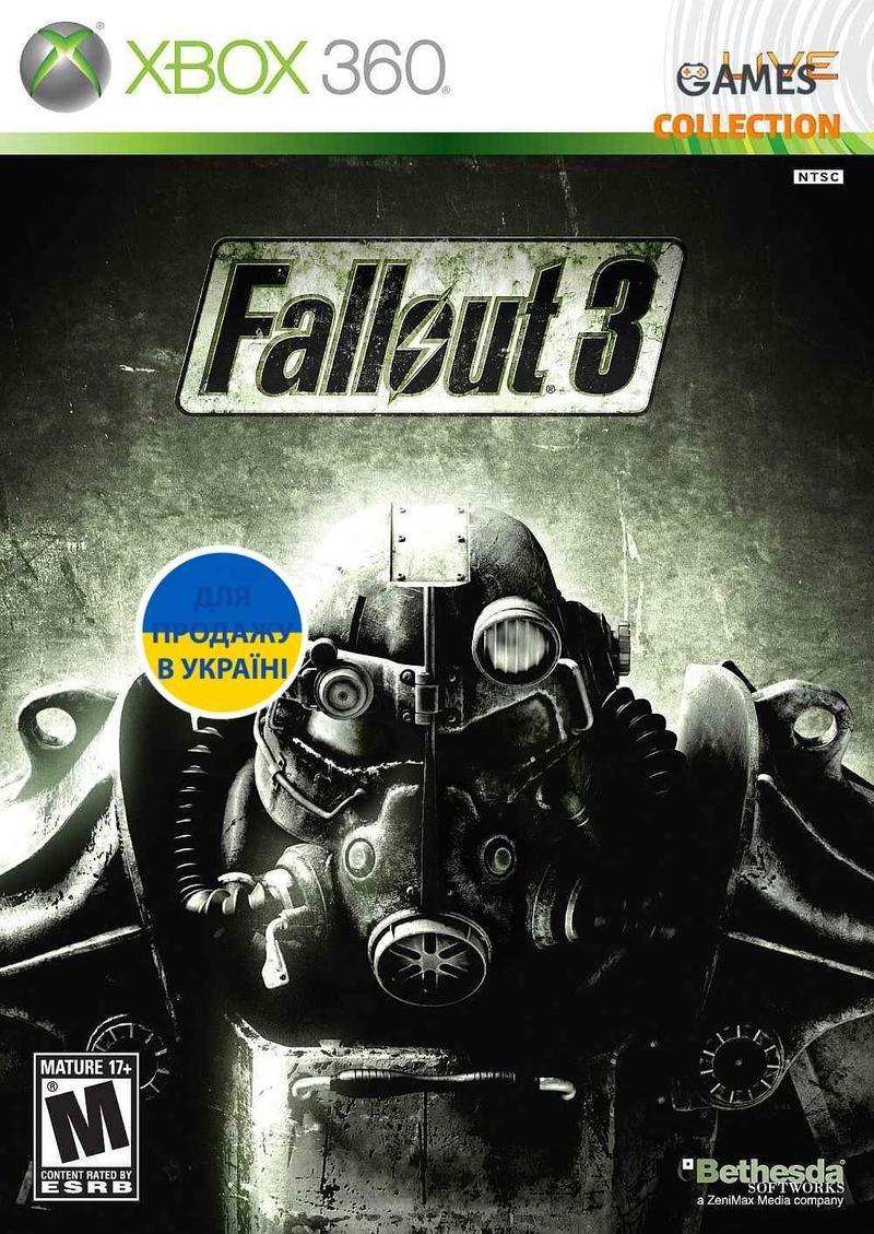 Fallout 3 (XBox 360) Лицензия-thumb