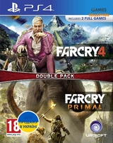 Far Cry Primal/ Far Cry 4 Double pack (PS4)-thumb