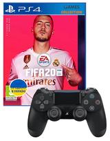 Fifa 20 + DUAL SHOCK 4 V2 BLACK (PS4)-thumb