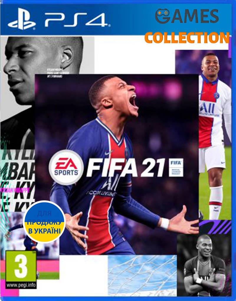 FIFA 21  (Бесплатное обновление до версии PS5) (PS4, русская версия)-thumb