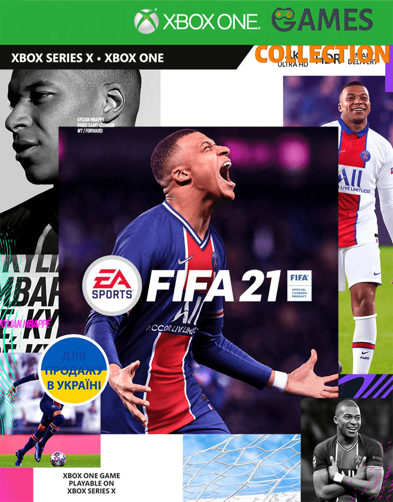 FIFA 21: Champions Еdition (XBox One)-thumb