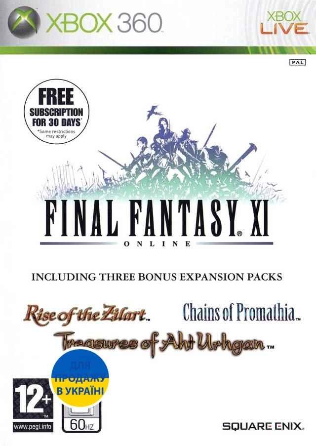 Final Fantasy XI (XBox 360) Лицензия-thumb