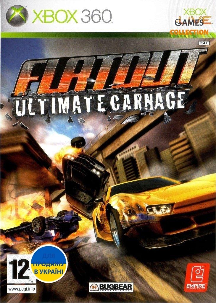 FlatOut: Ultimate Carnage (XBOX360)-thumb