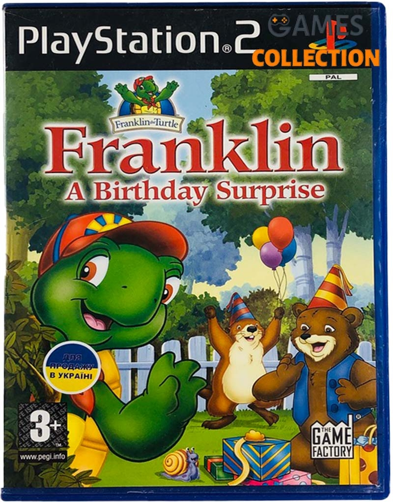 Franklin: A Birthday Surprise (PS2) Б/У-thumb