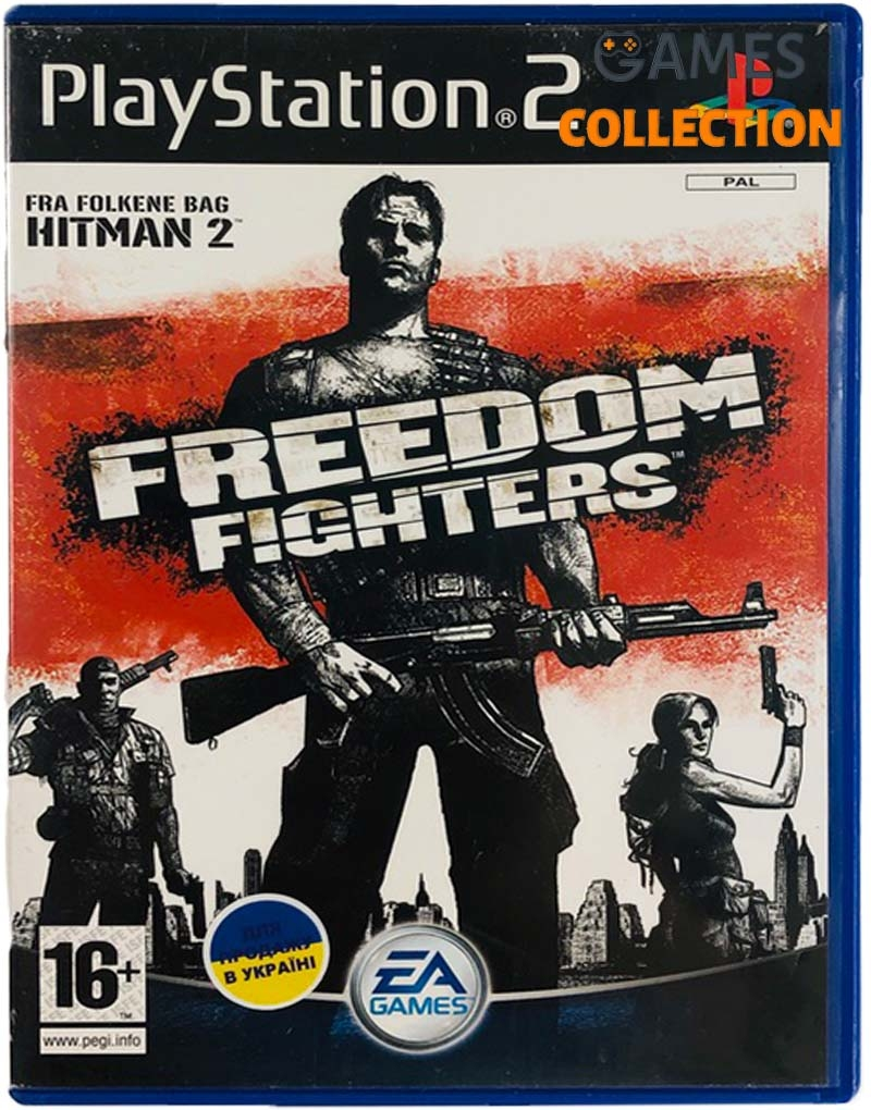 Freedom Fighters (PS2) Б/У-thumb