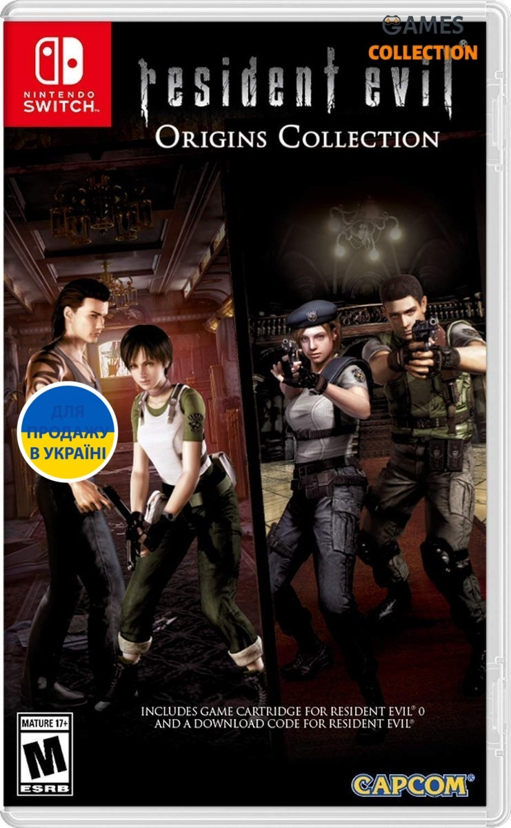 Resident Evil Origins Collection (Switch)-thumb
