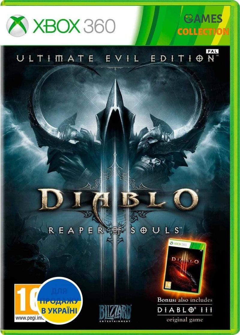 Diablo III: REAPER OF SOULS (XBOX360) Б/У-thumb