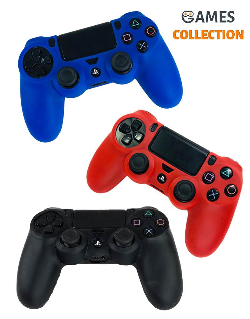 Защитный силиконовый чехол для DualShock 4 (PS4)-thumb