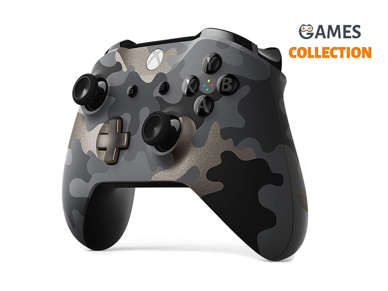 Xbox Wireless Controller – Night Ops Camo Special Edition-thumb