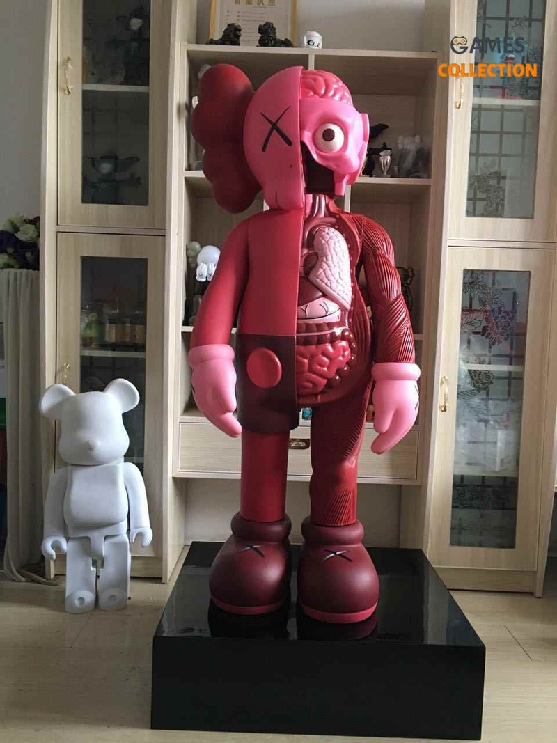 Kaws Flayed Companion Open Edition 130 см Pink-thumb