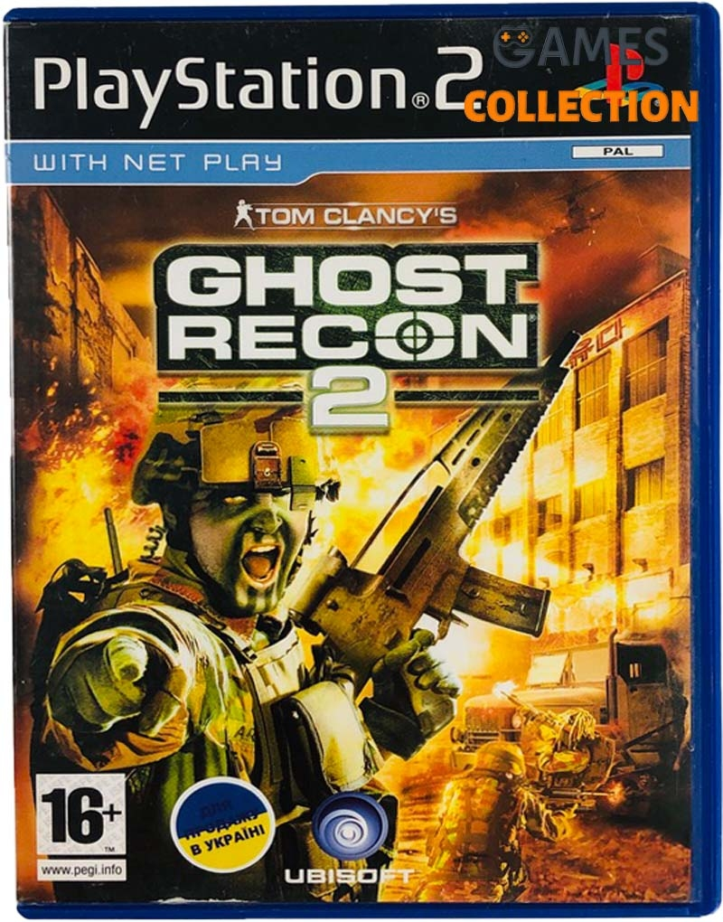 Tom Clancy's Ghost Recon 2 (PS2) Б/У-thumb