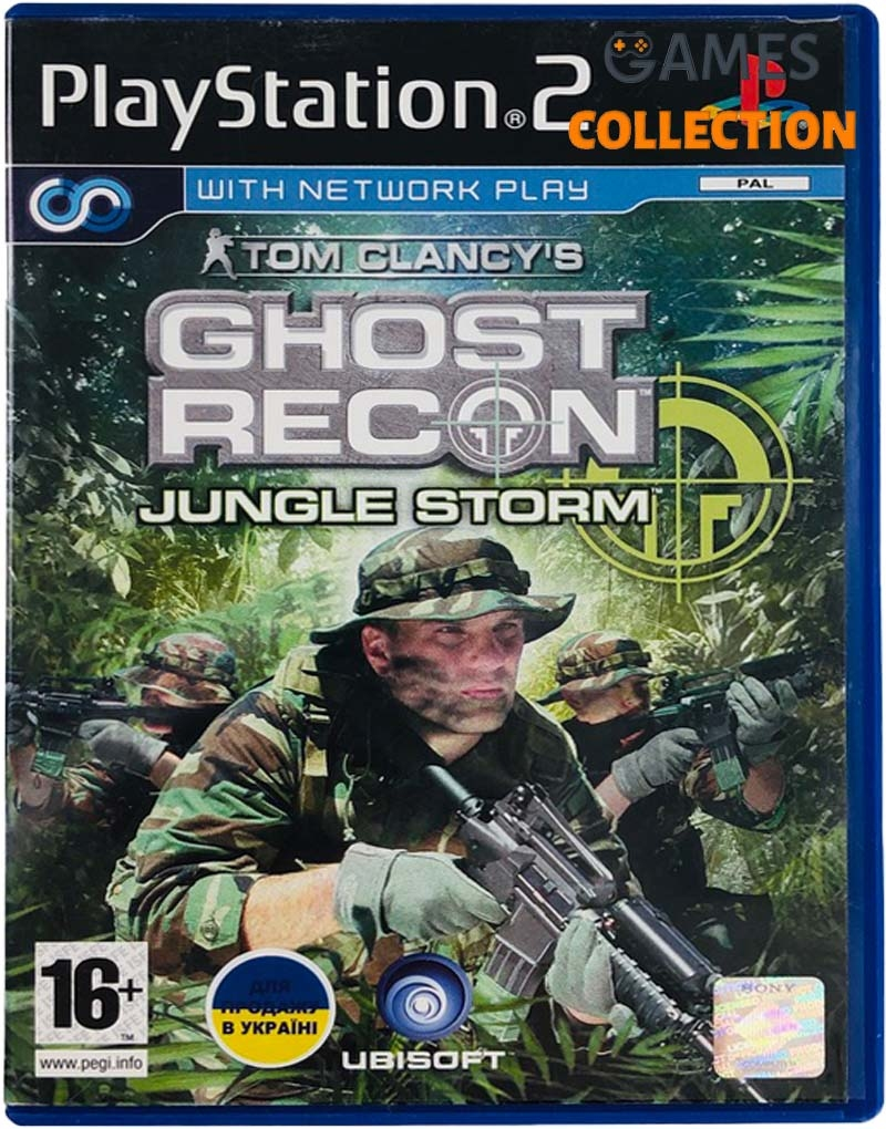 Tom Clancy's Ghost Recon: Jungle Storm (PS2) Б/У-thumb