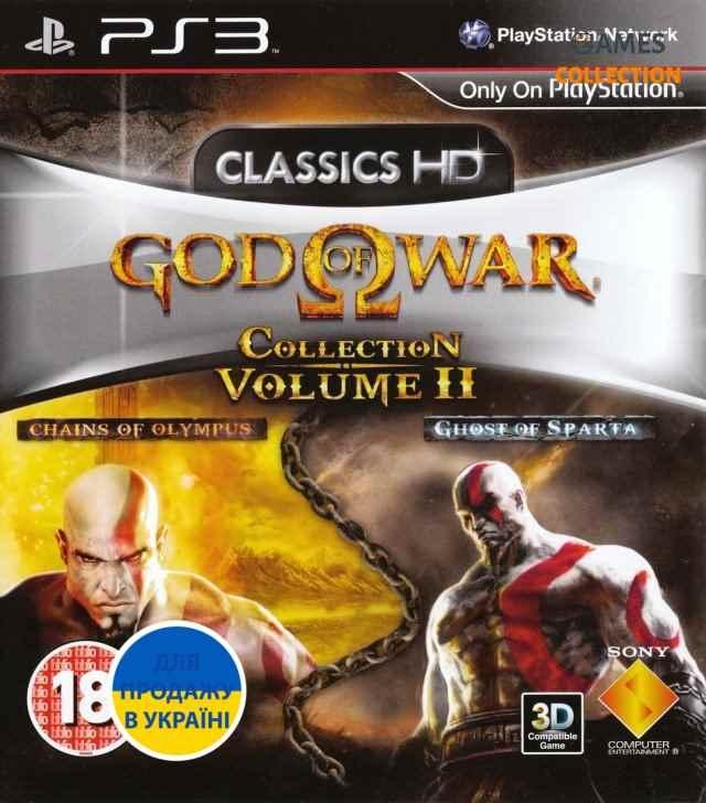 God of War Collection Vol.2 (2 игры в HD) (PS3)-thumb