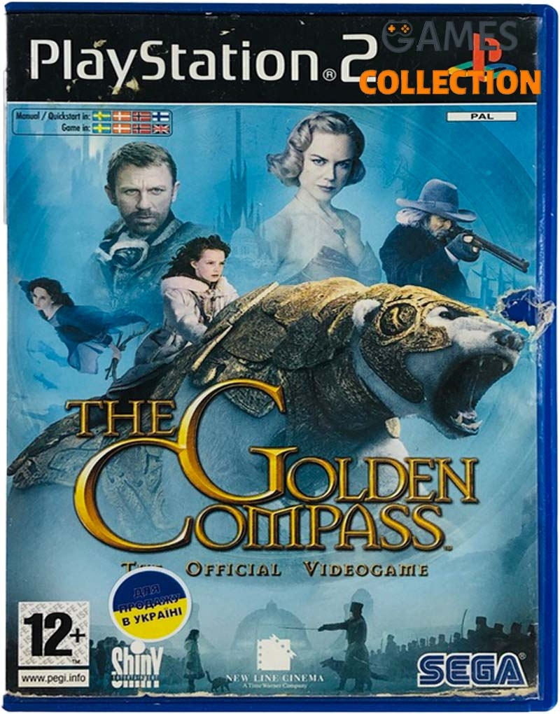 The Golden Compass (PS2) Б/У-thumb