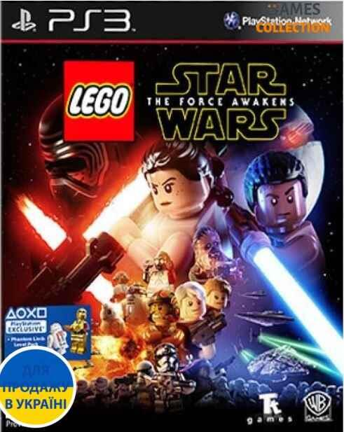 LEGO Star Wars: The Force Awakens [PS3]-thumb