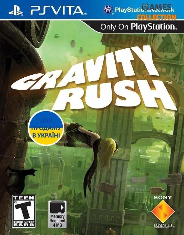 Gravity Rush (PS Vita)-thumb