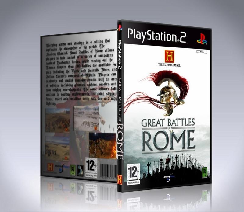 great battles of rome (ps2)-thumb