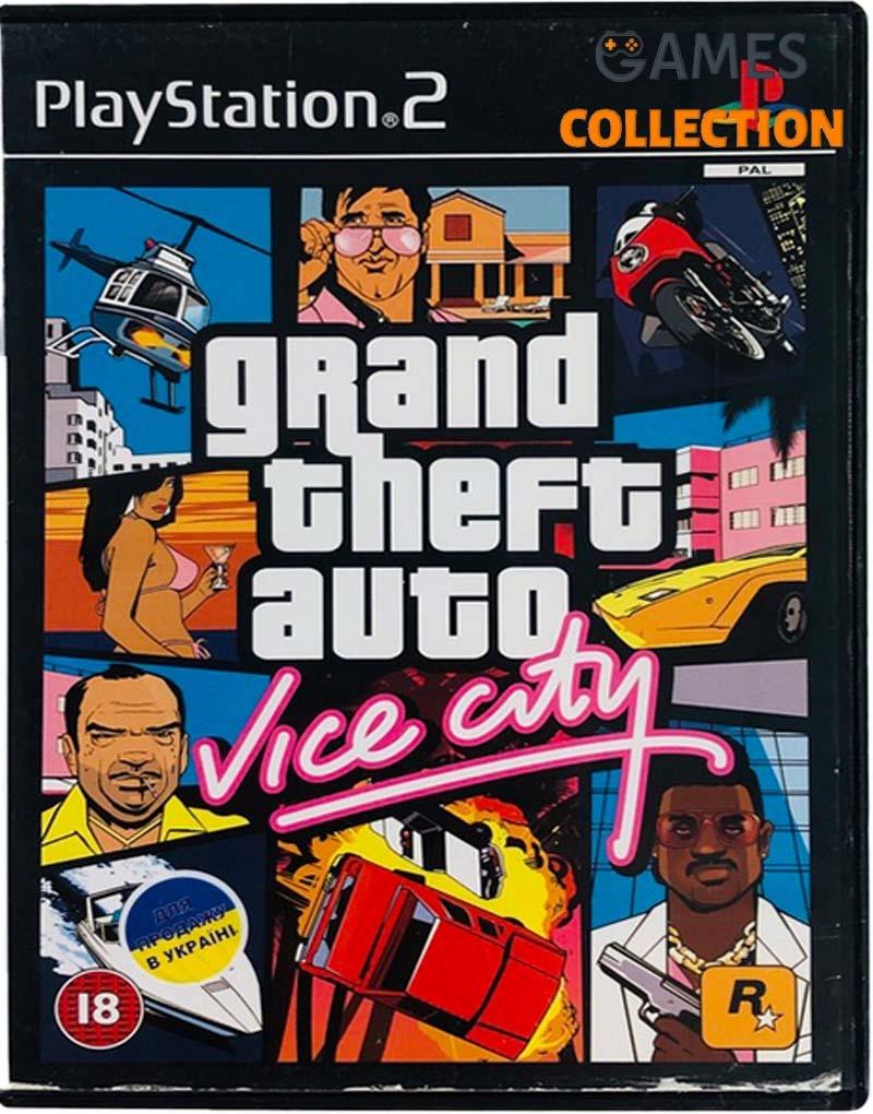 Grand Theft Auto: Vice City Stories (PS2) Б/У-thumb